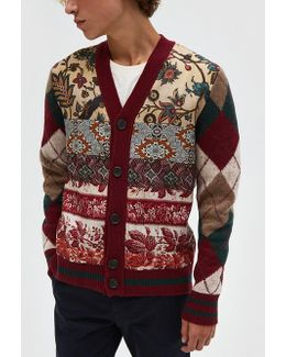 Cardmos Sweater In Bordeaux