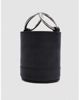 Bonsai 15 Cm Bag In Black Baranil Calf
