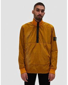 Nylon Metal Lined Garment Dyed Sweatshirt