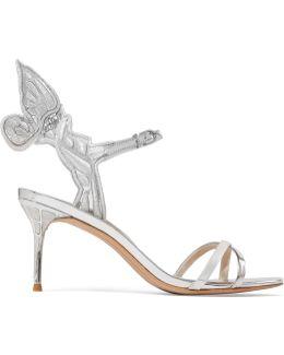 Chiara Embroidered Metallic Leather Sandals