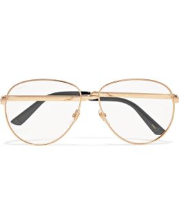 Aviator Glasses With Web