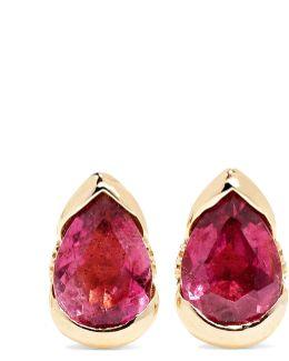 Bloom 18-karat Rose Gold, Tourmaline And Diamond Earrings