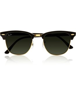 Clubmaster Acetate Sunglasses
