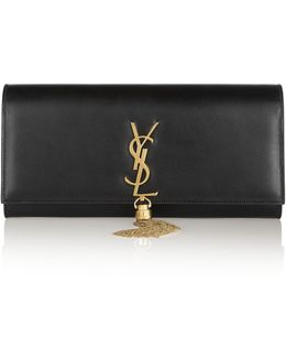 Monogramme Leather Clutch