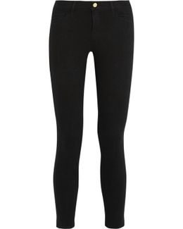 Le Color Cropped Mid-rise Skinny Jeans