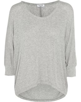 Draped Stretch-jersey Top