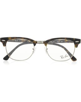 Havana Clubmaster Acetate Optical Glasses
