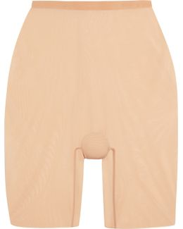 Stretch-tulle Shorts
