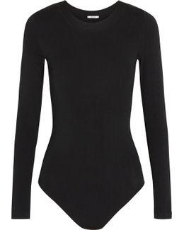 Berlin Stretch-jersey Bodysuit