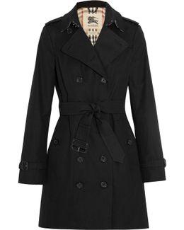 The Sandringham Mid Cotton-gabardine Trench Coat