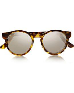 Hey Macarena Round-frame Acetate Sunglasses