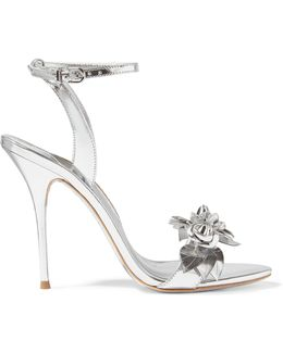 Lilico Appliquéd Metallic Leather Sandals