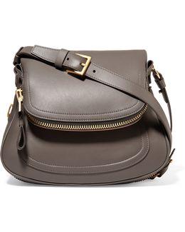 Jennifer Medium Leather Shoulder Bag
