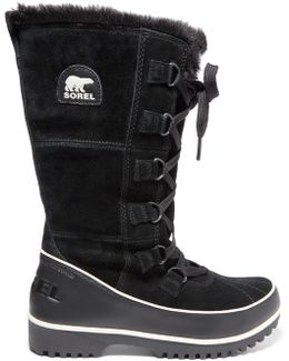 Tivoli High Ii Waterproof Suede And Leather Boots