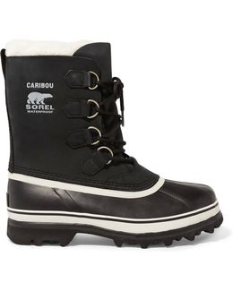 Caribou Waterproof Leather And Rubber Boots