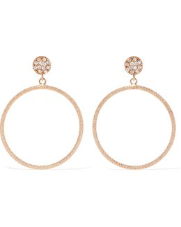 Looking Glass 18-karat Rose Gold Diamond Earrings