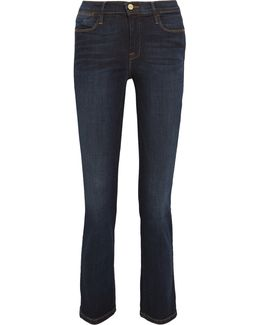 Le High Cropped Slim-leg Jeans