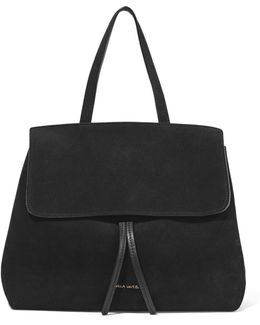 Lady Mini Suede Tote Bag