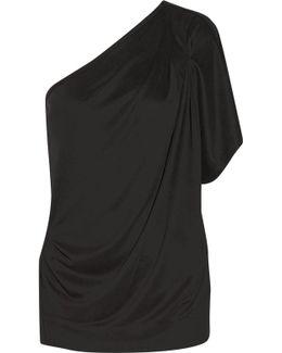 Asolla One-shoulder Modal-blend Jersey Top