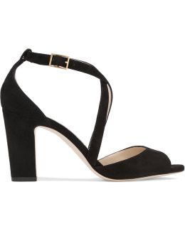 Carrie Suede Sandals