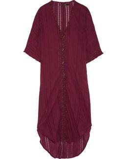 Woven Cotton-voile Kaftan
