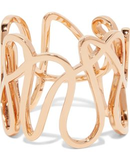 White Noise 18-karat Rose Gold Ring