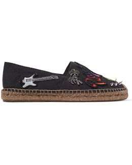 Sienna Tropical Espadrille Flats