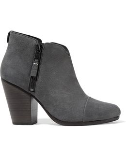 Margot Nubuck Ankle Boots