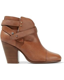 Harrow Shearling-lined Leather Ankle Boots