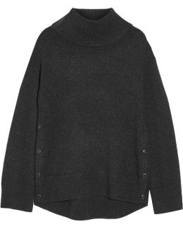 Phyllis Wool And Cashmere-blend Turtleneck Sweater