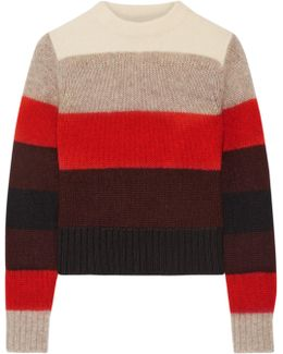 Britton Striped Knitted Sweater