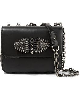 Sweet Charity Embellished Leather Shoulder Bag