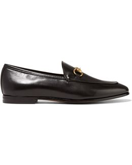 Horsebit-detailed Leather Loafers