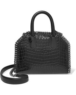 The Falabella Croc-effect Faux Leather Tote