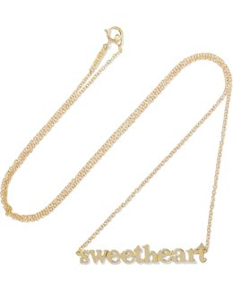 Sweetheart 18-karat Gold Necklace