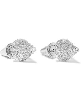 Silver-plated Cubic Zirconia Earrings