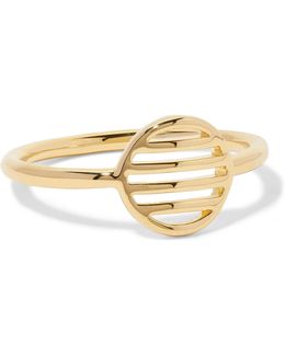 Circle Gold-plated Ring