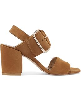 City Suede Sandals