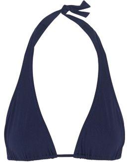 Cannes Halterneck Triangle Bikini Top