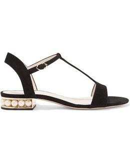 Casati Embellished Suede Sandals