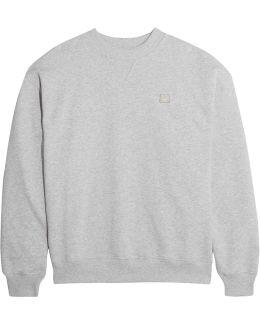 Yana Appliquéd Cotton-jersey Sweatshirt