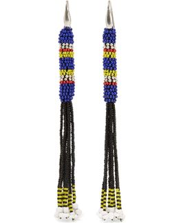 Tassled Beaded Earrings