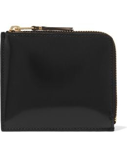 Glossed-leather Wallet