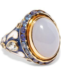 Gold-tone Multi-stone Ring