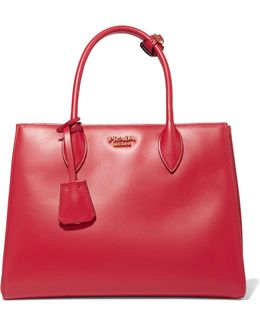 Bibliotheque Small Leather Tote