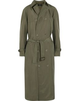 Parachute Washed-silk Trench Coat