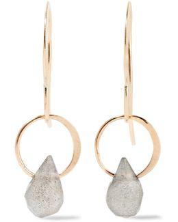 14-karat Gold Labradorite Earrings