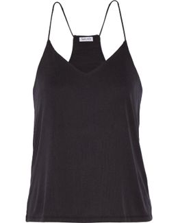 Ribbed Stretch Modal-blend Camisole
