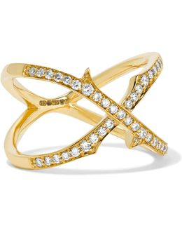 Thorn 18-karat Gold Diamond Ring