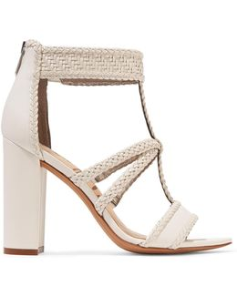Yordana Woven Leather Sandals